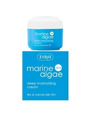 Crema de fata intensiv hidratanta Marine Algae Spa ziaja 50 ml Imagine 1