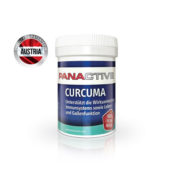 Panactive Curcuma Blatt 80 cps Imagine 1