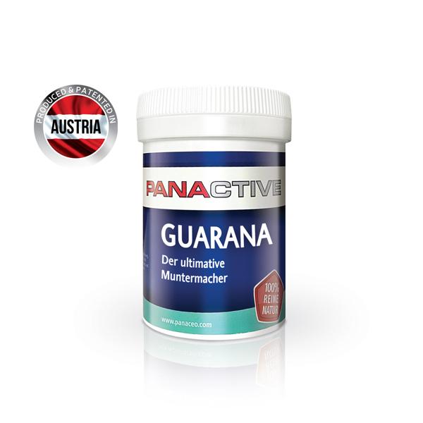 Panactive Guarana Blatt 80 cps Imagine 1