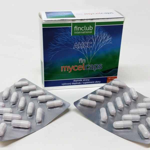 Mycelcaps AHCC – Imunomodulator 80 capsule Imagine 1