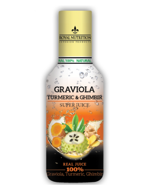 Graviola & Turmeric & Ghimbir – 470 ml Imagine 1