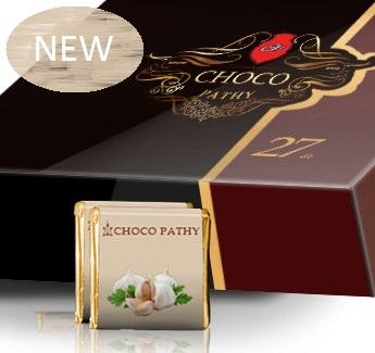 Ciocolata neagra cu acid humic si extract de usturoi – 27 buc Imagine 1