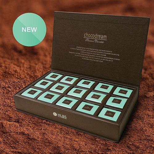 Ciocolata neagra cu acid humic, fibre, fara zahar – detoxifiere si controlul greutatii – 90 buc Imagine 1