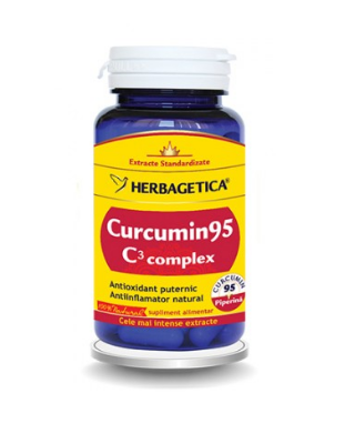 CURCUMIN95 C3 COMPLEX – 30 capsule Imagine 1