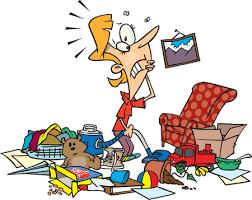 Dezordinea generează mult stres atunci când avem de găsit lucruri importante în timp scurt