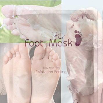 foot mask masca exfolianta pentru picioare