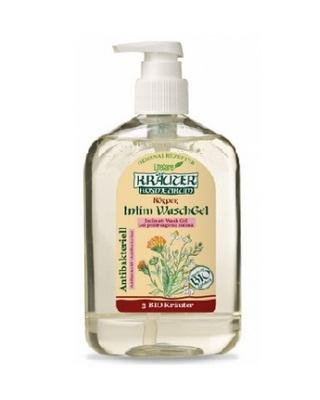 Gel antibacterian pentru igiena intima, cu plante BIO 500 ml Imagine 1