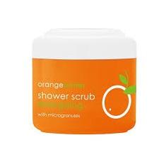 Crema corp exfolianta de dus cu microgranule si unt de portocale ziaja 200 ml Imagine 1