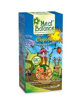 Clopotel Cavalerul Imunitatii – Ceai din plante si fructe pentru copii Meal Balance 30 gr Imagine 1