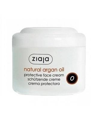 Crema fata protectoare de zi cu ulei natural de argan / ten uscat si normal ziaja 50 ml Imagine 1