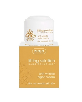 Crema fata de noapte Lifting Solution ziaja 50 ml Imagine 1