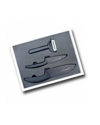 Set cutite ceramice + curatitor ceramic 3 piese Imagine 1