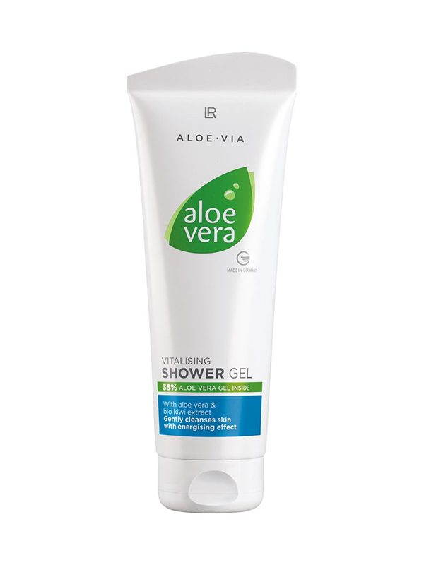 Gel de dus revitalizant Aloe Vera 250 ml Imagine 1