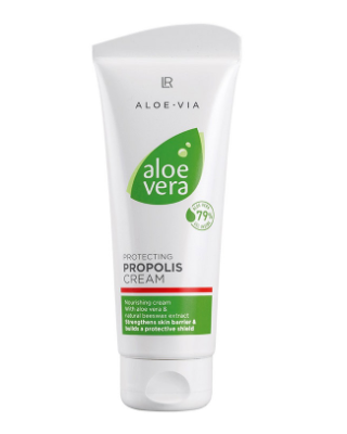 Crema hranitoare Aloe Vera cu Propolis – 100 ml Imagine 1