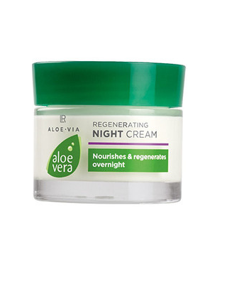 Crema regeneratoare de noapte cu Aloe Vera – 50 ml Imagine 1