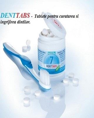 Denttabs – tablete pentru curatarea si ingrijirea dintilor Imagine 1
