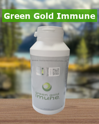 Green gold imune – produs anticancer la cel mai bun pret 180 cps Imagine 1