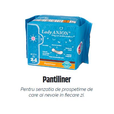 Pantiliner – pentru uz zilnic, putere de absorbţie 1 picătură 24 buc Imagine 1