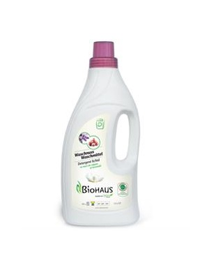 Detergent lichid cu nuci de sapun si lavanda 1500 gr Imagine 1