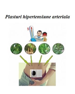 Plasturi pentru hipertensiune arterială 5 buc Imagine 1