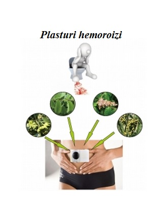 Plasturi hemoroizi 5 buc Imagine 1