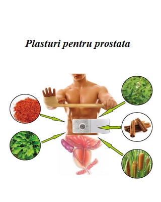 Plasturi prostata 5 buc Imagine 1