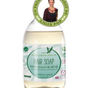 Sampon ecologic cu ulei de masine si Vitamina E