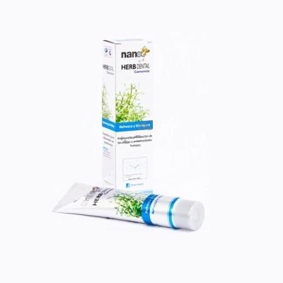 Pasta de dinti Nano Herb Dental cu musetel Imagine 1