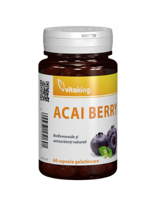 ACAI BERRY – 60 CAPSULE GELATINOASE Imagine 1