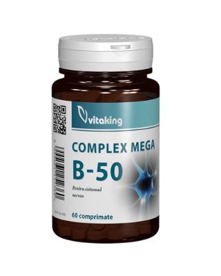 Complex Mega B-50 – 60 comprimate Imagine 1