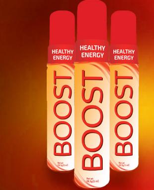 Boost – spray nutritional pentru energie (3 buc) Imagine 1