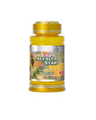 ALFALFA STAR – Extract din semințe de lucernă 60 tablete Imagine 1
