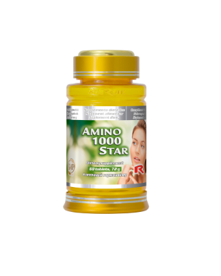 Amino 1000 – Vitamina C 60 tablete Imagine 1