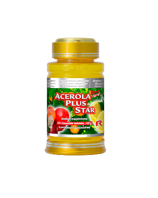 Acerola plus star 60 tablete Imagine 1