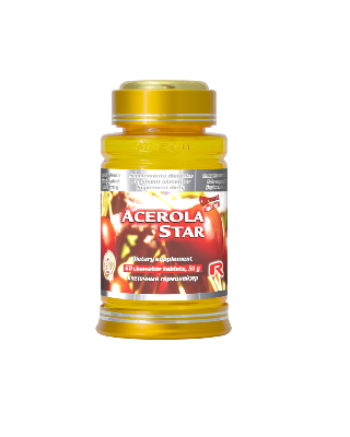 Acerola star 60 tablete Imagine 1