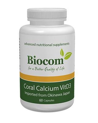 Coral Calcium Vit D3 – 60 capsule Imagine 1