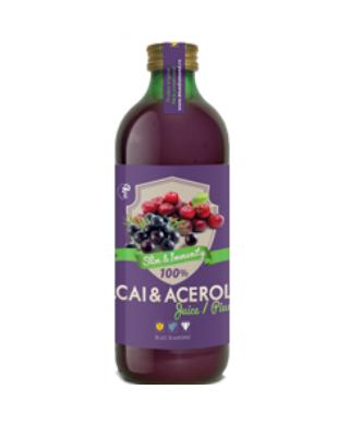 Acai & acerola juice 100% puree  – 500 ml Imagine 1