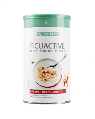 Fulgi Figu Active cu merisoare crocante – 450 g Imagine 1