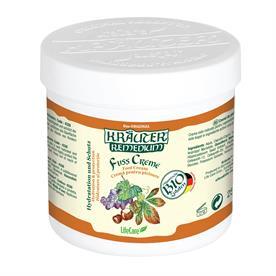 Crema de picioare pentru imbunatatirea circulatiei, cu vita de vie si plante BIO Krauter – 250 ml Imagine 1
