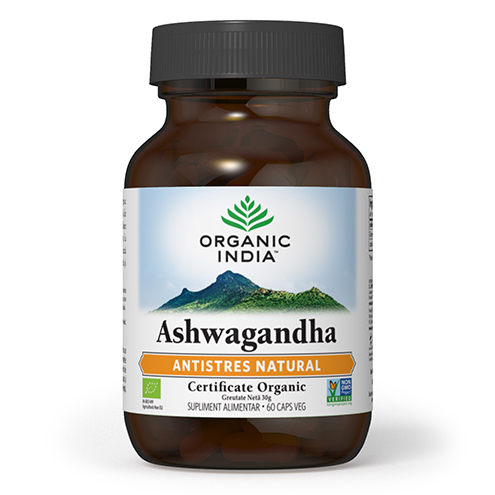 Antistres Natural – Ashwagandha 60 capsule Imagine 1
