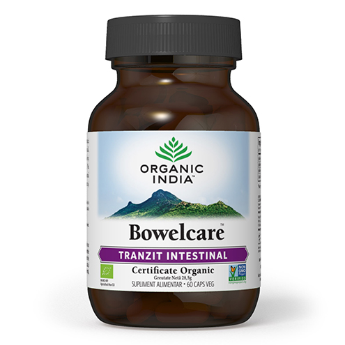 Tranzit Intestinal, Combate Balonarea – Bowelcare 60 capsule Imagine 1