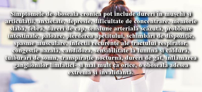 Oboseala cronica (sindromul burn-out)