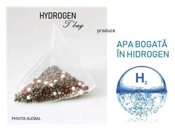 Hydrogen T'bag – Creeaza apa pe care o doresti (antioxidanta; ph 8.5-9.5; 10 tipuri de minerale alcaline benefice) Imagine 1