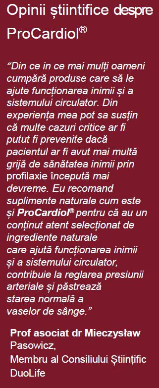 opinii procardiol