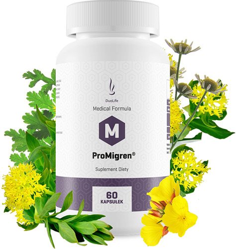 DuoLife ProMigren® – Sprijină sistemul nervos, scade sensibilitatea la zgomot, reduce stările de greață și induce o stare debine Imagine 1