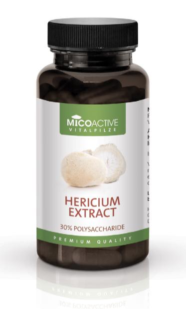 Micoactive Hericium Extract 80cps – Puternic din interior! Imagine 1