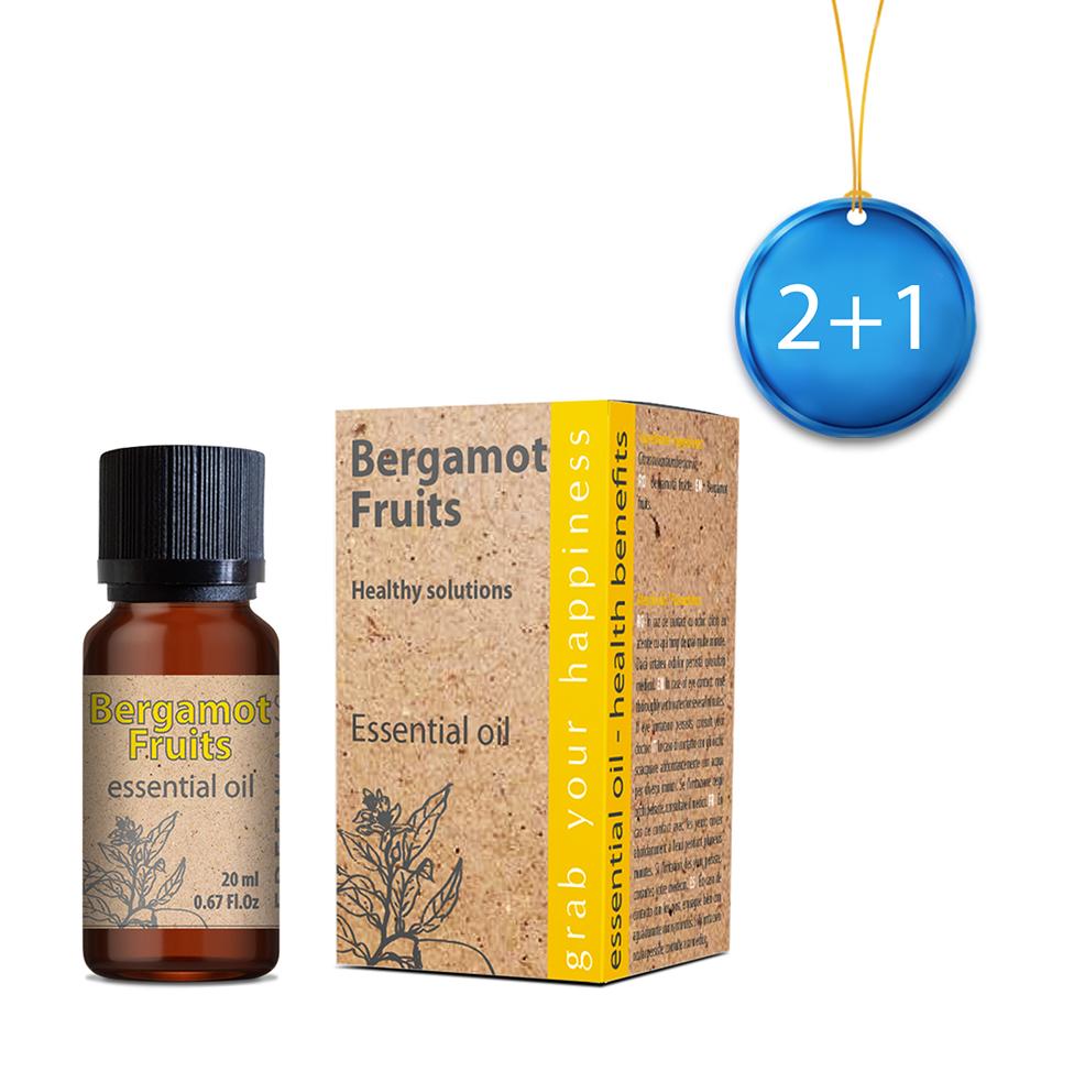 Bergamot Fruits ulei esențial 20 ml 2+1 Imagine 1