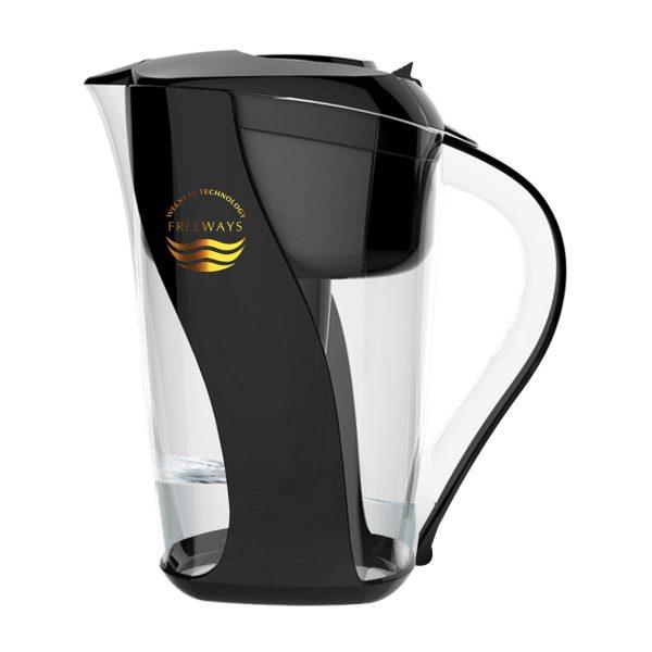 Cană de purificare a apei (până la -400 ORP) neagră Imagine 1