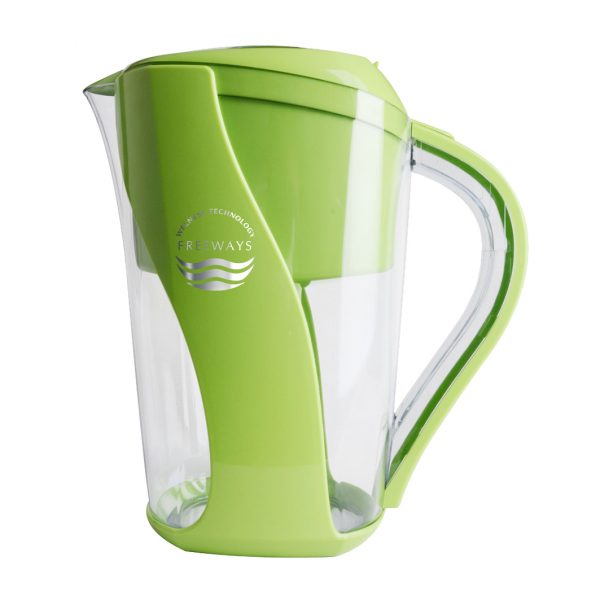 Cană de purificare a apei (până la -400 ORP) verde Imagine 1