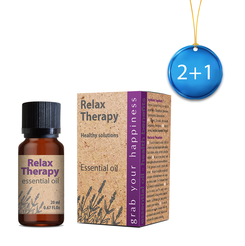 Relax Therapy ulei esențial 20 ml 2+1 Imagine 1
